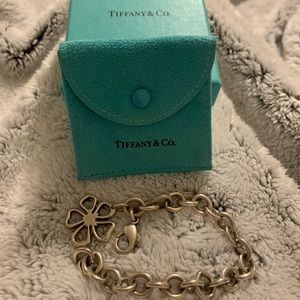 Tiffany & Co. open flower bracelet